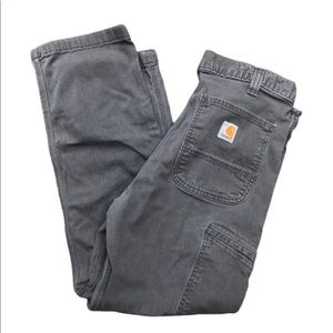 CARHARTT Men's Relaxed Fit 34x30 Grey Jeans